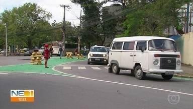 Ruas do bairro da Ilha do Leite recebem ciclorrota e implantação de Zona 30 - Mudanças no trânsito entraram em vigor nesta quarta-feira (18).