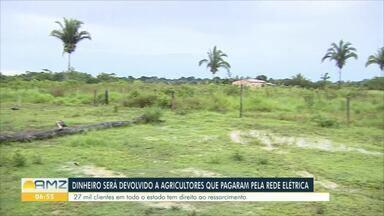 Moradores da área rural que pagaram pela própria rede de energia em RO serão ressarcidos - Mais de 27 mil pessoas devem receber o ressarcimento