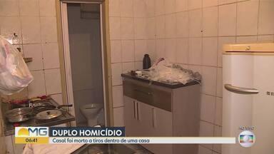 Duas pessoas são assassinadas dentro de casa, na Região do Barreiro, em Belo Horizonte - Crime foi na noite desta terça-feira (24).