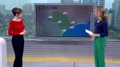 Veja a previsão do tempo para esta quarta-feira (25) em São Paulo - Veja a previsão do tempo para esta quarta-feira (25) em São Paulo