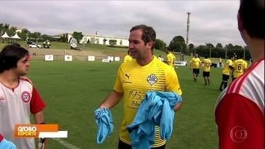 Caio Ribeiro promove um jogo entre a seleção brasileira de Down e craques aposentados - undefined