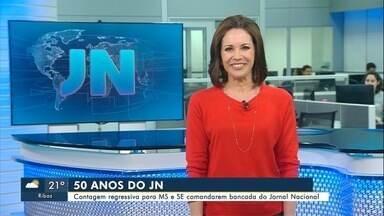 Lucimar Lescano e jornalista de Sergipe falam sobre apresentação do JN em outubro - Eles vão dividir a bancada do Jornal Nacional dia 26 de outubro.