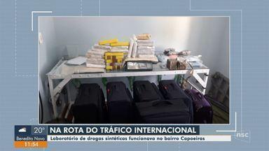 Polícia Civil desarticula organização que produzia drogas sintéticas em Florianópolis - Polícia Civil desarticula organização que produzia drogas sintéticas em Florianópolis