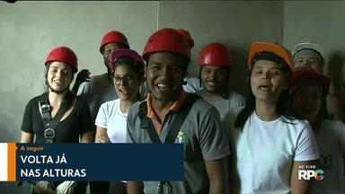Meio-Dia Paraná volta já foi nas alturas hoje - Participe também enviando um vídeo para o aplicativo Você na RPC.