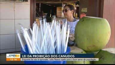 João Pessoa ainda não tem lei para proibir canudos de plástico - Cabedelo saiu na frente e já proibiu o uso de canudos.