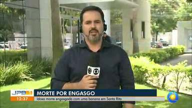 Mulher morre engasgada com banana na Paraíba - Foi em Santa Rita.