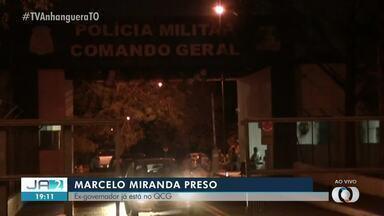 Após prisão, ex-governador Marcelo Miranda é levado para Comando Geral da PM - Após prisão, ex-governador Marcelo Miranda é levado para Comando Geral da PM