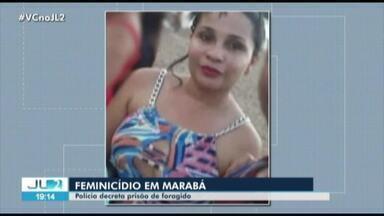 Justiça decreta prisão de suspeito de feminicídio em Marabá, no PA - Ao menos quatro mulheres procuram a Delegacia da Mulher, por dia, no município.