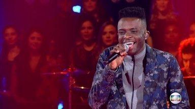 """EL1 canta """"Let´s Stay Together"""" - Cantor disputa vaga na semifinal"""