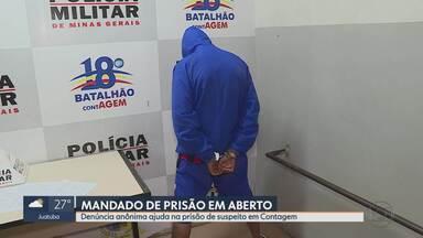 Polícia prende jovem suspeito de tráfico de drogas em Contagem, na Grande BH - De acordo com a PM, Guilherme Modesto, de 21 anos, estava sendo monitorado.