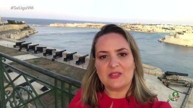 In Todo Canto Tem Cearense: Charlene Veras, de Nova Russas, atualmente mora em Malta - Cearense mostra curiosidades do arquipélago situado na região central do Mediterrâneo.