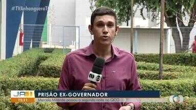 Ex-governador Marcelo Miranda passou segunda noite preso em Palmas - Ex-governador Marcelo Miranda passou segunda noite preso em Palmas