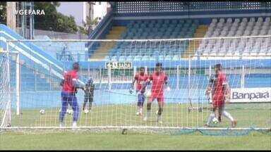 Paysandu realiza treino fechado antes de clássico pela Copa Verde - Paysandu realiza treino fechado antes de clássico pela Copa Verde