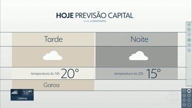 Sábado terá frio, o dia todo, na Grande São Paulo - Temperaturas voltam a subir na tarde deste domingo e próxima semana será quente.