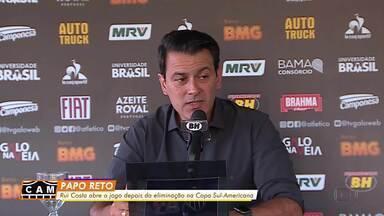 Rui Costa abre o jogo um dia depois da eliminação do Atlético-MG na Sul-Americana - Rui Costa abre o jogo um dia depois da eliminação do Atlético-MG na Sul-Americana