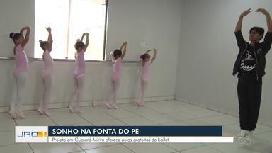 Projeto incentiva a dança em Guajará-Mirim - Professores chegam a percorrer 300km pra dar aulas de balé.