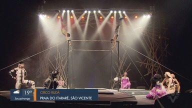 Confira as atrações culturais da região no 'Partiu FDS' - Quadro apresentado por Thais Rozo mostra as dicas de shows e espetáculos na Baixada Santista.
