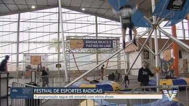 Praia Grande recebe o Festival de Esportes Radicais - A programação do F.E.R.A acontece até o próximo domingo (28).