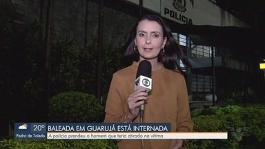 Homem que baleou missionária é preso em Guarujá - Suspeito tentou assaltar e acabou atirando contra a vítima.