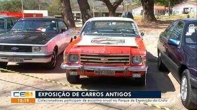 Cortejo de carros antigos é destaque no Crato - Saiba mais em g1.com.br/ce