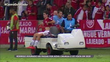 Rodrigo Dourado vai passar por nova cirurgia e só retorna em 2020 - Assista ao vídeo.