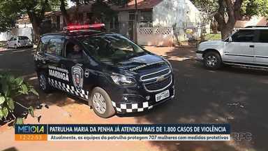 Patrulha Maria da Penha já atendeu mais de 1800 casos de violência doméstica - Atualmente, as equipes da patrulha protegem 707 mulheres com medidas protetivas.