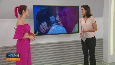 Mobi Colombo é semifinalista do The Voice Brasil - A cantora segue confiante na competição.
