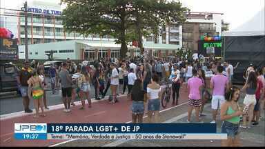 18ª Parada LGBT+ de João Pessoa será neste domingo - Na Orla da Capital.