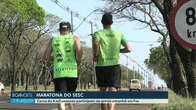 Neste domingo tem Maratona do Sesc - Mais de dois mil atletas devem encarar os 42 quilômetros