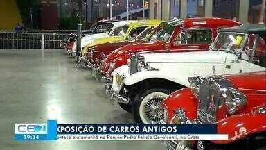 Exposição de carros antigos marca centenário do primeiro modelo da cidade do Crato - Saiba mais no g1.com.br/ce