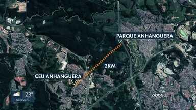 Menina de nove anos é encontrada morta no Parque Anhanguera - A menina estava com a família em uma festa no CEU Anhanguera e quando a mãe foi comprar pipoca ela desapareceu.