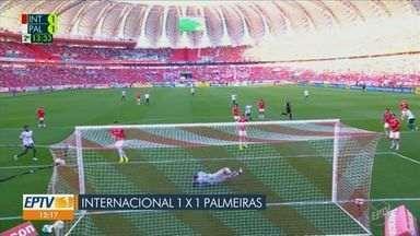 Confira os gols dos times paulistas na rodada do final de semana no Brasileirão - Corinthians e Santos venceram enquanto Palmeiras São Paulo empataram seus respectivos jogos.