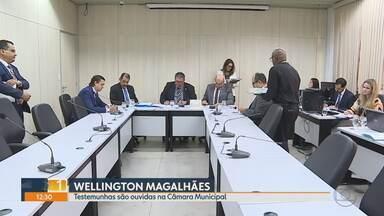 Câmara de BH ouve testemunhas sobre denúncias contra vereador Wellington Magalhães - No início do mês, os vereadores votaram pela continuidade do processo de cassação do ex-presidente da casa. Ele é acusado de cometer várias irregularidades.