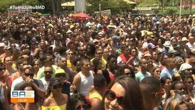 Banda 'Mudei de Nome' reúne multidão no Dique do Tororó, no Festival da Primavera - Repertório do show contou com canções que fazem parte da história da música baiana.