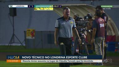 Mazola Júnior é o novo técnico do Londrina - Ele tem 54 anos e já esteve a frente de times como Vila Nova, Bragantino e Sport.