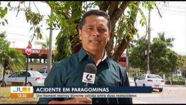 Homem morre após colisão entre duas motocicletas em Marabá - Homem morre após colisão entre duas motocicletas em Marabá