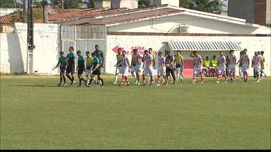Veja como foi a vitória do Confiança-PB sobre o Sport-PB na semifinal da 2ª divisão - Bicho-Papão faz 1 a 0 no Carneiro e fica a um empate do acesso à elite do Paraibano
