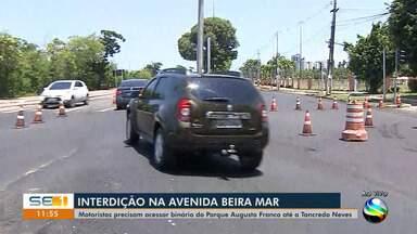 Saiba mais sobre a interdição da Avenida Beira Mar - Saiba mais sobre a interdição da Avenida Beira Mar.