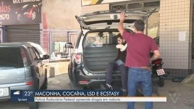 Polícia Rodoviária Federal apreende drogas na Rodovia Régis Bittencourt - PRF apreendeu quase uma tonelada de maconha na rodovia neste final de semana.