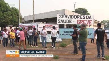 Greve na área da saúde - Ministério Público do Estado, emitiu uma recomendação para o sindicato dos trabalhadores da saúde do município.