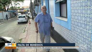 Falta de remédios compromete o tratamento de pacientes com câncer no Maranhão - Paciente de 66 anos fez uma denúncia à TV Mirante e alega que já está há um mês sem um dos remédios que precisa.