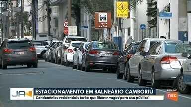 Em Balneário Camboriú, condomínios residenciais terão que liberar vagas para uso público - Em Balneário Camboriú, condomínios residenciais terão que liberar vagas para uso público