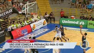 Time do São José no NBB tem sotaques estrangeiros - Um deles é o 'portunhol'.