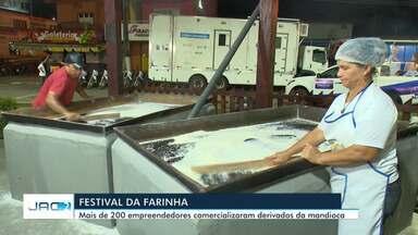 Festival da Farinha atraiu mais de 100 mil pessoas nos 4 dias de festa - Festival da Farinha atraiu mais de 100 mil pessoas nos 4 dias de festa