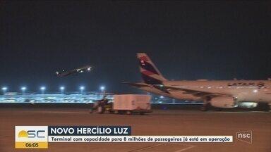 Novo aeroporto de Florianópolis começa a operar nesta terça-feira (1º) - Novo aeroporto de Florianópolis começa a operar nesta terça-feira (1º)