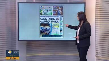 Confira as capas dos principais jornais do RS nesta terça-feira (1) - Assista ao vídeo.