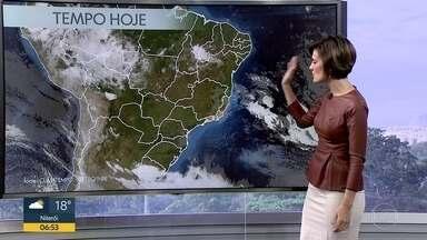 Confira a previsão do tempo para esta terça-feira (1º) - Manhã começa com muita umidade e nuvens ainda estão presentes. Ao longo do dia o sol predominará.