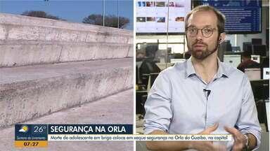 Daniel Scola fala sobre a morte de um jovem em briga generalizada na Orla do Guaíba - Assista ao vídeo.