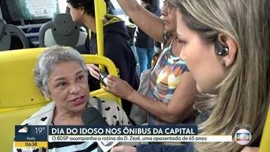 BDSP acompanha a dificuldade dos idosos no transporte público - Acompanhamos a dona Zezé, que sai da Brasilândia em direção ao centro da Capital.