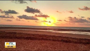 Veja fotos do amanhecer enviadas pelos telespectadores - Imagens foram enviadas pelo Whatsapp.